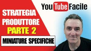 STRATEGIA VIDEO MARKETING #2 PRODUTTORE MUSICALE MINIATURE SPECIFICHE